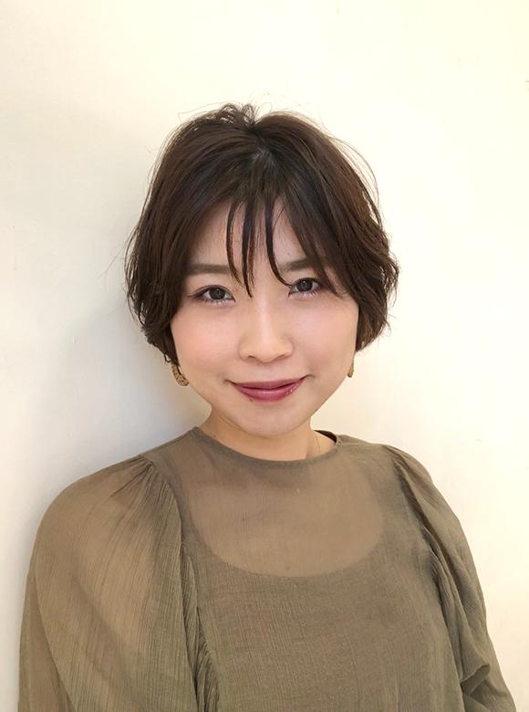 埼玉県富士見市の美容室hair maふじみ野店勤務スタッフ 橋本沙樹