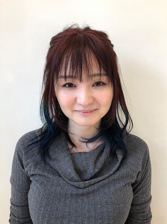 埼玉県富士見市の美容室hair maふじみ野店勤務スタッフ黒岩彩香