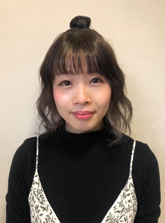 埼玉県富士見市の美容室hair maふじみ野店勤務スタッフ 佐藤万里子